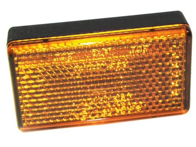 Busch + Müller 565R/2-2 - à fixer sur fourche suspendue orange